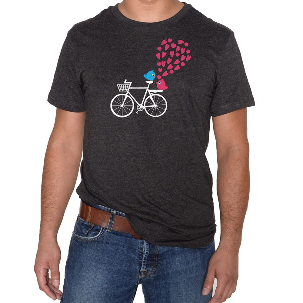 Spreading Love Man Dark Grey T-Shirt