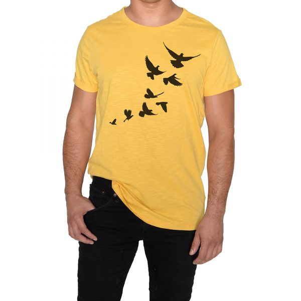 Freedom Man Yellow T-Shirt