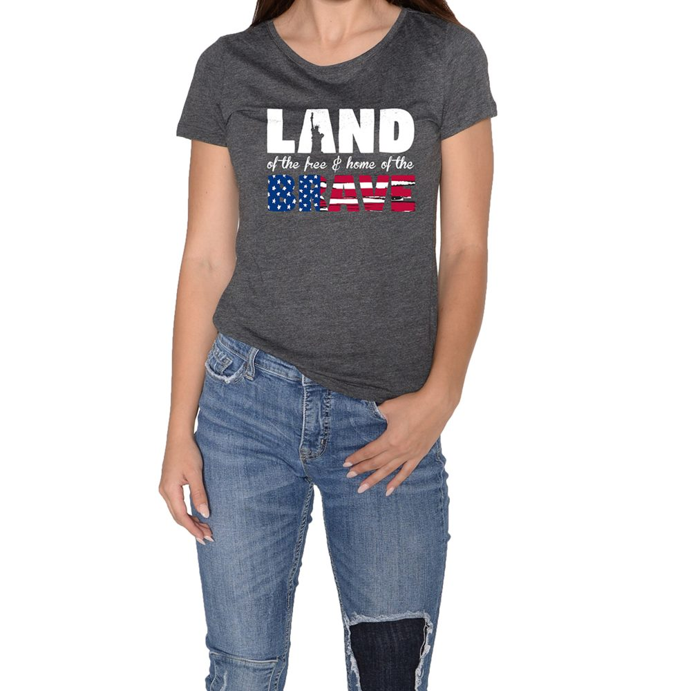 Land Brave Women Grey
