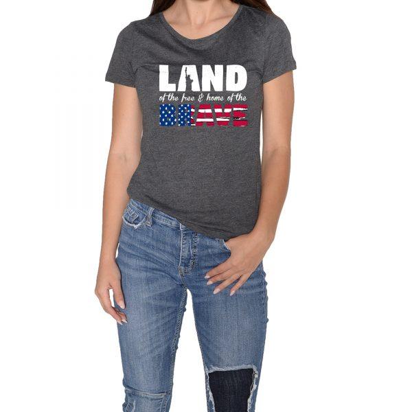 Land Brave Women Grey