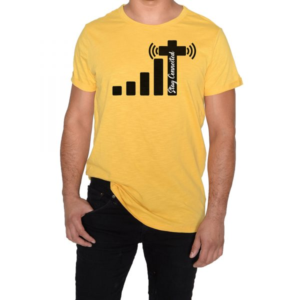 Stay Connected Yellow T-Shirt